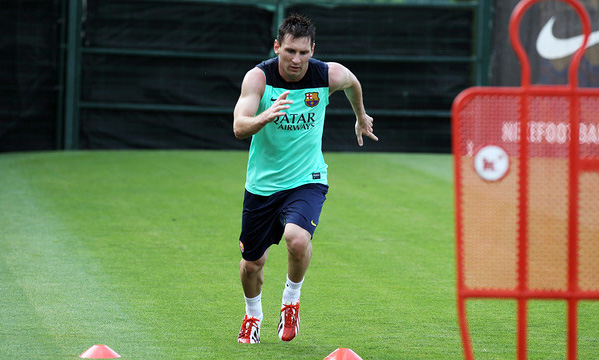 Lionel-Messi-entrainement