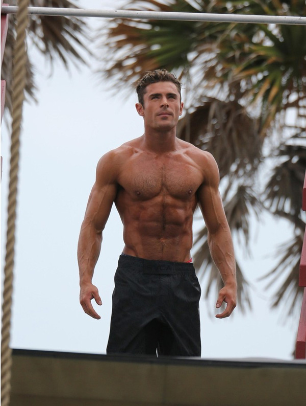 Zac Efron Muscle 111